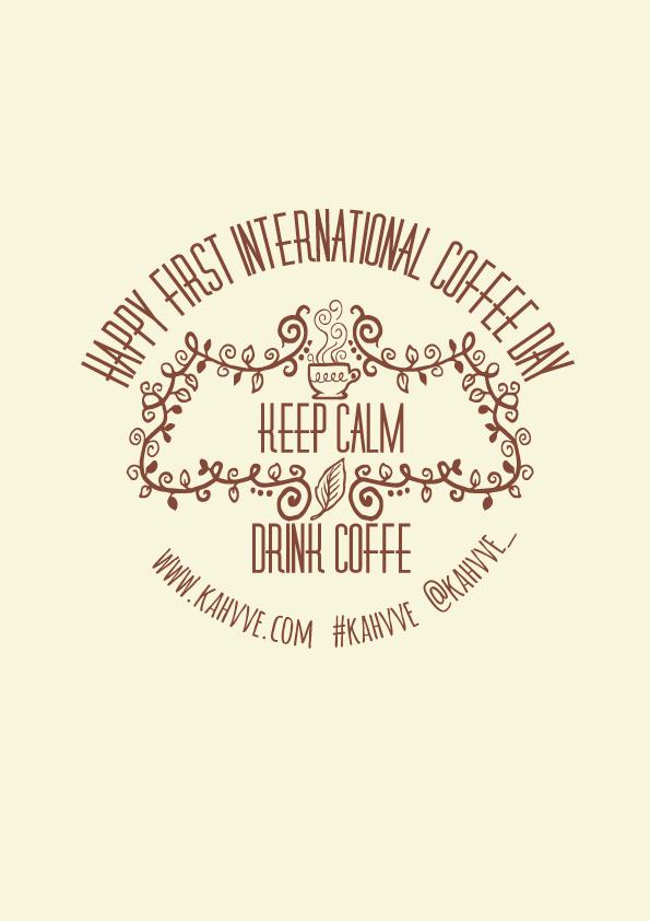 Bugün 1 Ekim 2015, günlerden kahve! 4