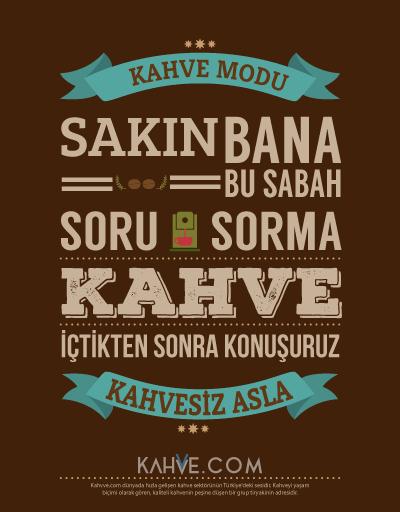 Yaratıcı kahve posterleri 1