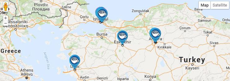 Türkiye'nin kahve haritası 3