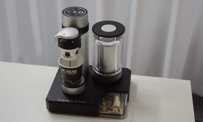 Müzik kutulu espresso makinası 1