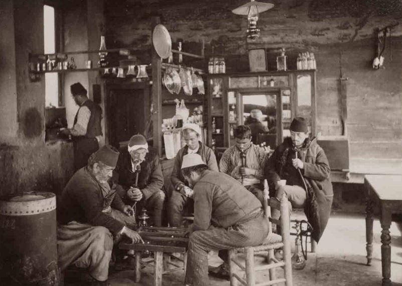 Osmanlı'da Kahvehaneler Türk kahvesi