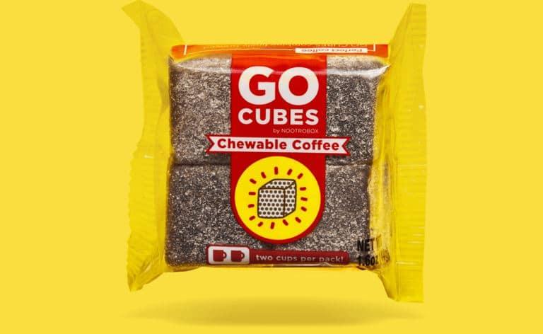 Çiğnenebilir kahve küpleri: Go Cubes 2