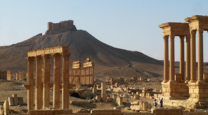 Palmira antik kenti geleceğini arıyor 1
