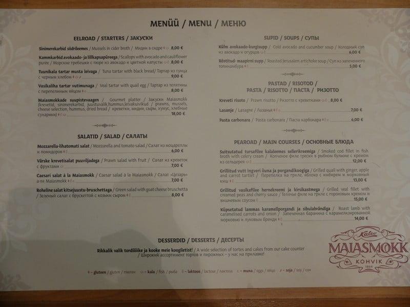 Estonya'nın tarihi kahve durağı: Maiasmokk Cafe'de 20
