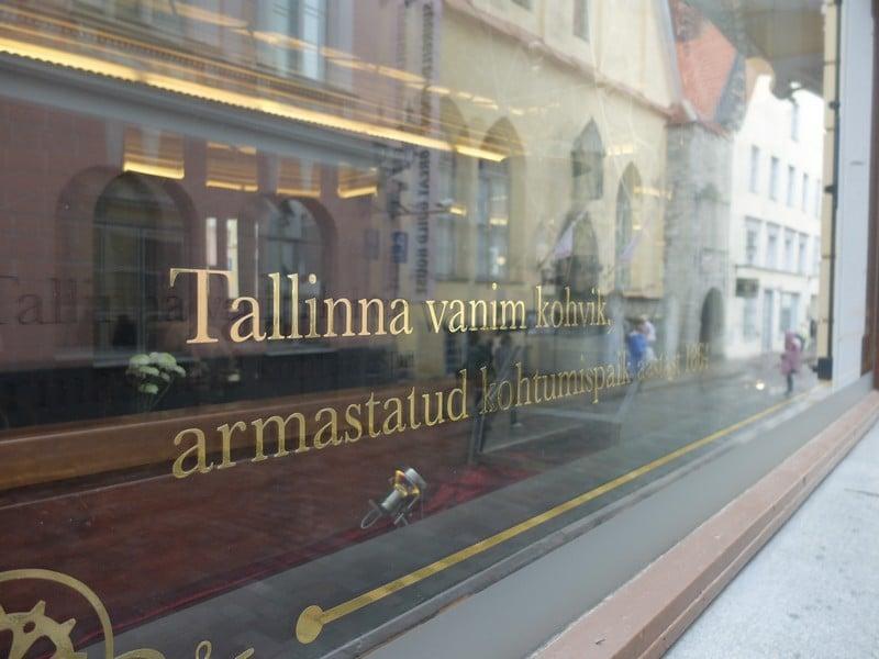 Estonya'nın tarihi kahve durağı: Maiasmokk Cafe'de 23
