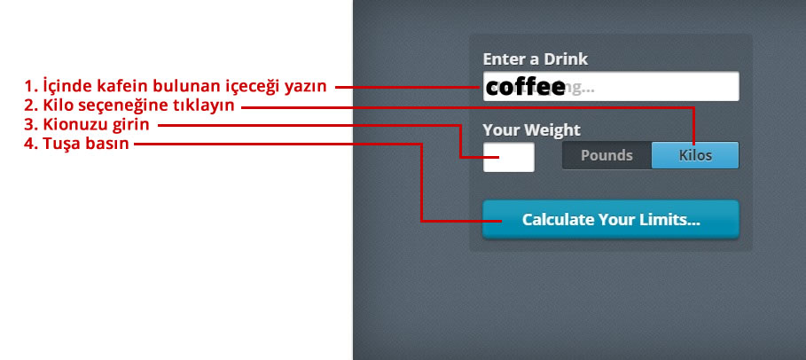 Ne kadar kafeine ihtiyacınız var? 2