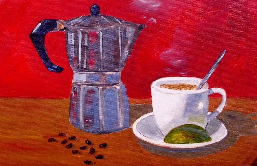 Küba kahvesi eşliğinde Havana 2
