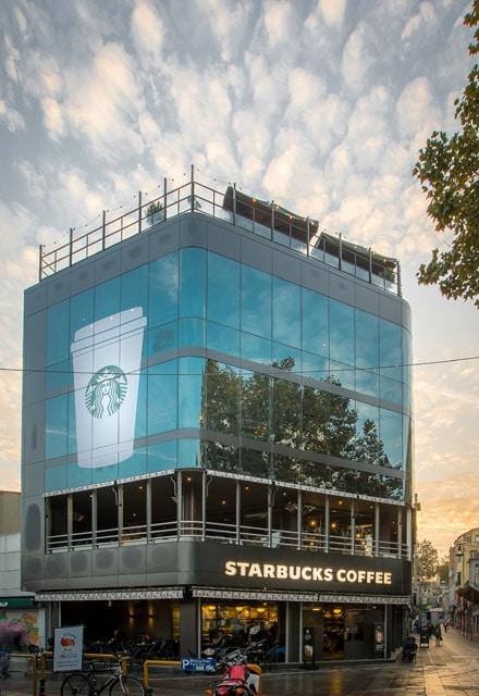 Starbucks Kadıköy Çarşı Mağazası Avrupa'nın En Büyüğü 1