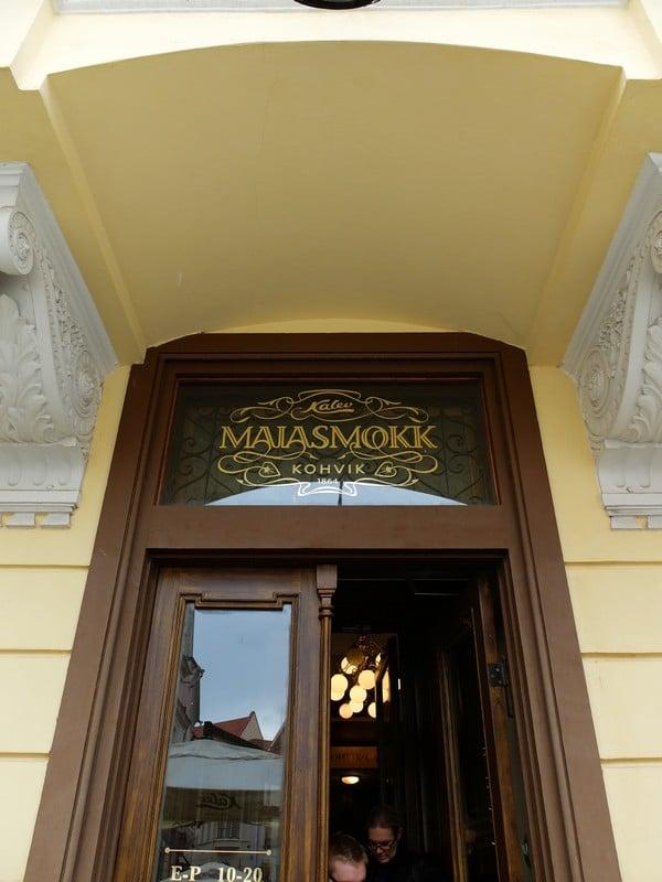 Estonya'nın tarihi kahve durağı: Maiasmokk Cafe'de 26