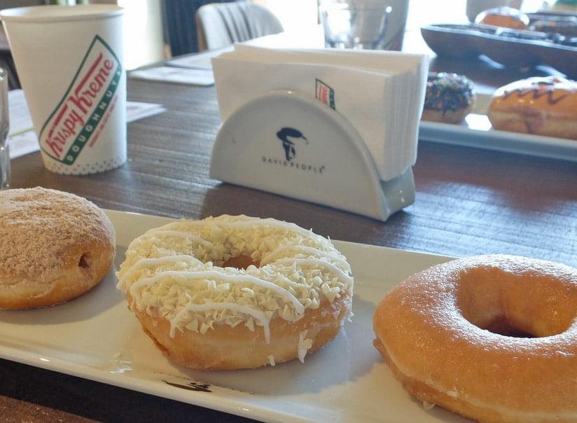 Dünya Kahve Günü'nün tatlı tadı Krispy Kreme 2