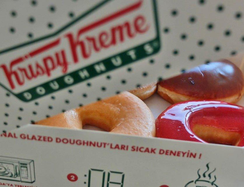 Dünya Kahve Günü'nün tatlı tadı Krispy Kreme 3