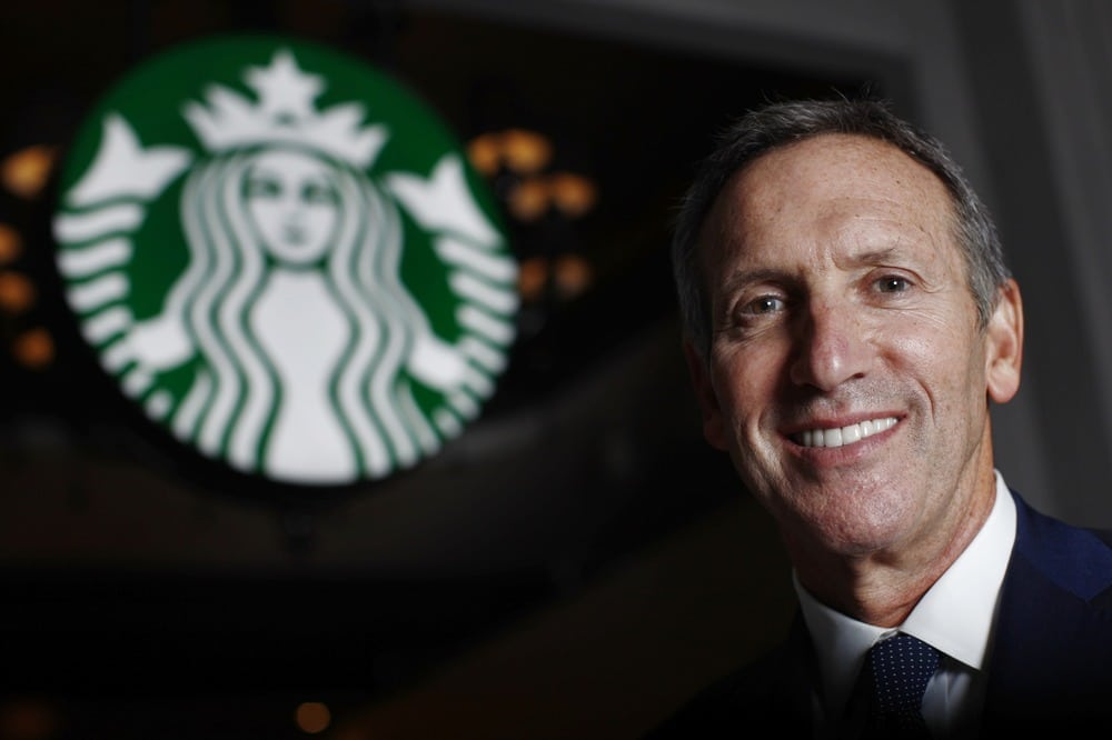 The Create Jobs for USA program was launched last October, soon after Starbucks Chief Executive Howard Schultz publicly scolded politicians on both sides of the aisle for not doing more to deal with the country's fiscal woes.