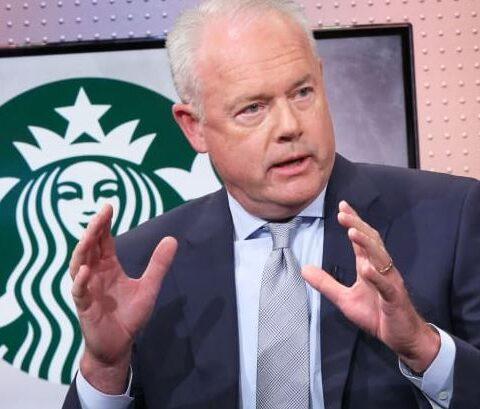 Kevin Johnson, Starbucks CEO