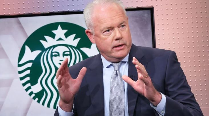 Kevin Johnson, Starbucks CEO